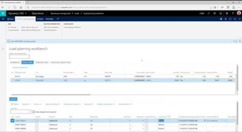 Manual Management of Loads, Shipments, and Waves in Dynamics 365 for Operations