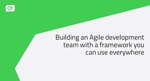 クロスプラットフォームフレームワークを活用してアジャイルな開発チーム構築