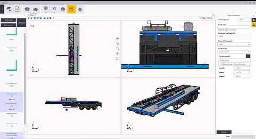 Tekla Structures - Apilador 3D para Embarques