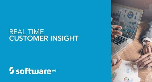 Real-time customer insight for a digital transformation in banking