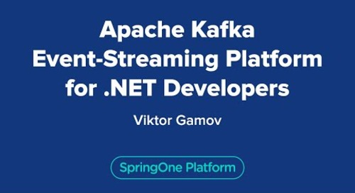 Apache Kafka Event-Streaming Platform for .NET Developers