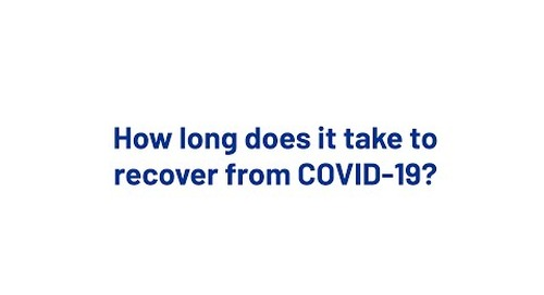 How long does it take to recover from COVID