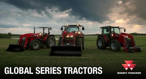 4700, 5700, 6700 Global Series Tractors from Massey Ferguson