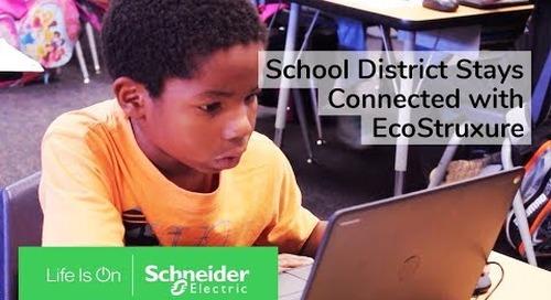 School District Stays Connected with EcoStruxure Modular Data Center | Schneider Electric