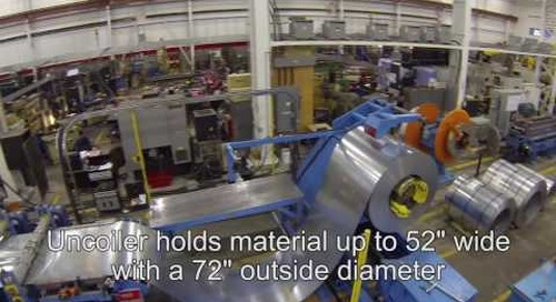 Samco Machinery Bridge Deck Rollforming Line