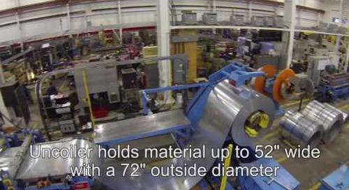 Samco Machinery Bridge Deck Rollforming Line