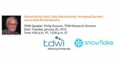 Demystifying Elastic Data Warehousing: Perceptual Barriers vs. Real-World Benefits
