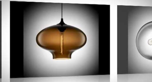 Niche Modern Summer Blues Sale - Handmade Modern Lighting