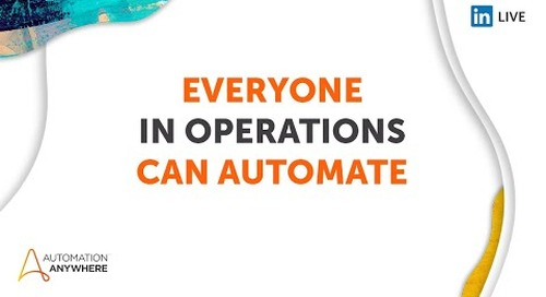 Everyone can Automate 2021 Day 4 - Operations