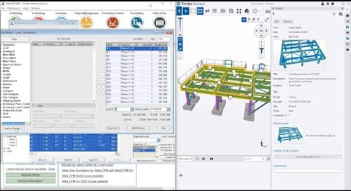 Work Faster with Trimble Connect and Tekla EPM