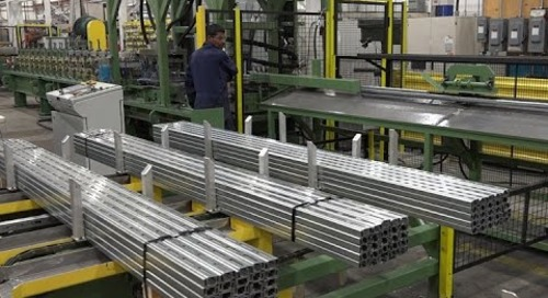 Samco Machinery Strut Rollforming Line with Material Handling System