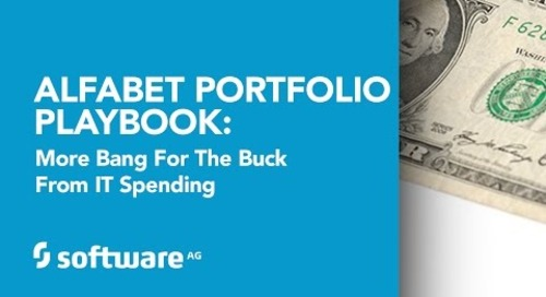 Alfabet Portfolio Playbook: More Bang for the Buck from IT Spending