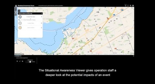 Esri Canada's Situational Awareness App