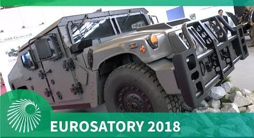 Eurosatory 2018 AM General unveils NXT 360 light tactical vehicle