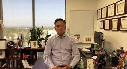 2020 Town Hall Invitation from David Kim, MD