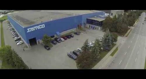 "Samco Machinery Canada Facility ""A Birds Eye View"""