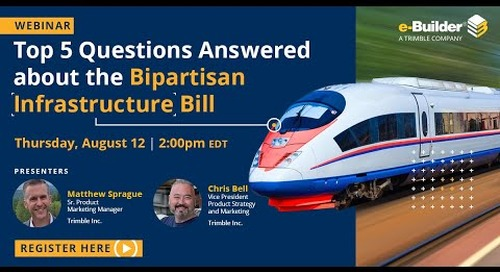 Top 5 Questions Answered About the Bipartisan Infrastructure Bill