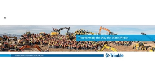Trimble Civil Engineering and Construction Live Stream