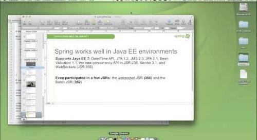 Joint IntelliJ Webinar: Spring Framework for IntelliJ IDEA13