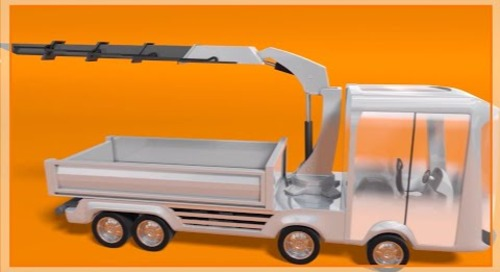 Motion plastic solutions for commercial vehicles