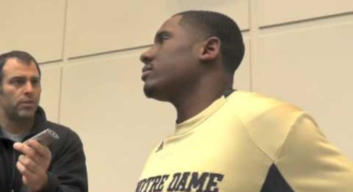 ND QB Everett Golson On April 4