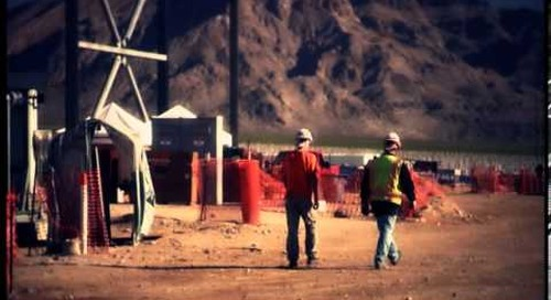 Boilermakers help build world's largest solar thermal facility in Ivanpah Valley