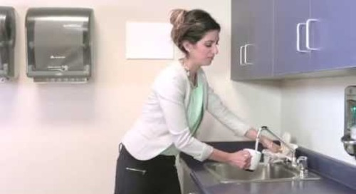 How to Survive Flu Season #34: Using the Sink