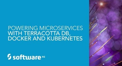 Demo: Powering Microservices with Terracotta DB, Docker and Kubernetes
