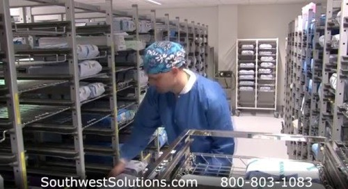 Sterile Surgical Instrument Carts Storing & Preventing Tears to Surgical Kits