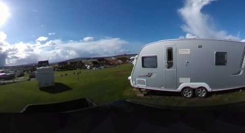 Whitby Holiday Park Touring & Motorhome Area Virtual Reality