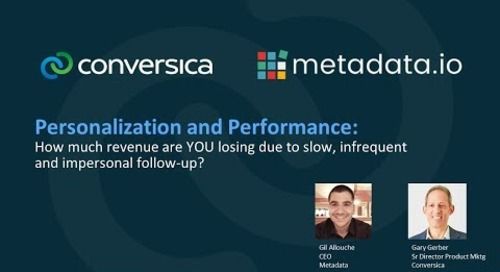 Webinar: Personalization and Performance