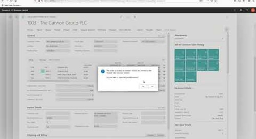 DiCentral EIS for Microsoft 365 BC Demo