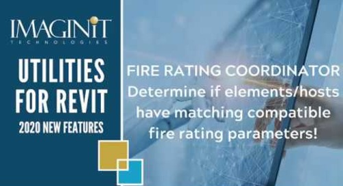 Utilities for Revit Fire Rating