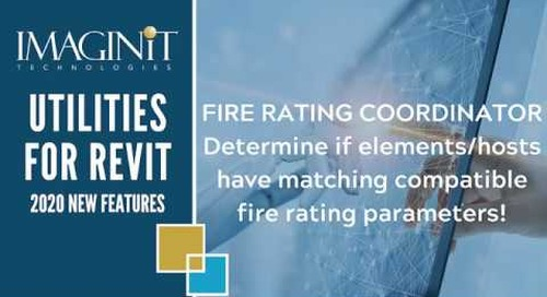 Utilities for Revit: Fire Rating
