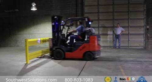 OSHA Warehouse Guard Rail Safety Barriers