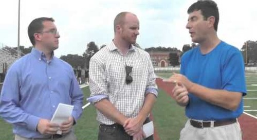 BGI Live From Notre Dame Practice - 8/4/14