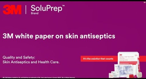 3M white paper on skin antiseptics