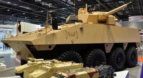 DSEI 2015 unveiled for the first time Nexter System's  VBCI-2  infantry fighting vehicle