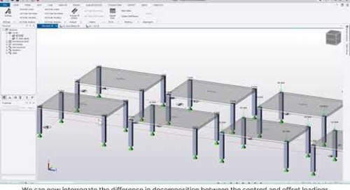 Tekla Structural Designer 2020 - How does TSD decompose applied loading?