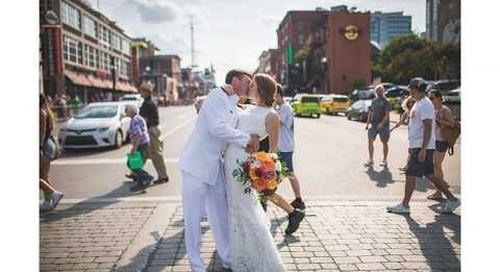 Fun Colorful Military Wedding in Nashville | Stephanie & Geoffrey