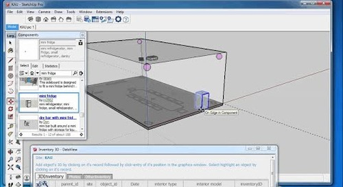 Assign 3D Components to Database Records in Inventory3D