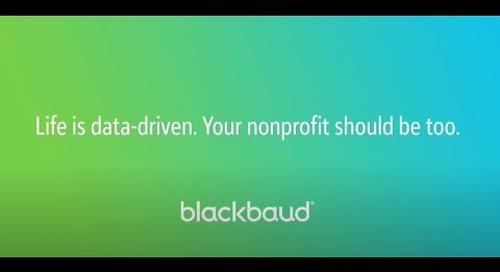 In a Flash: Blackbaud Analytics