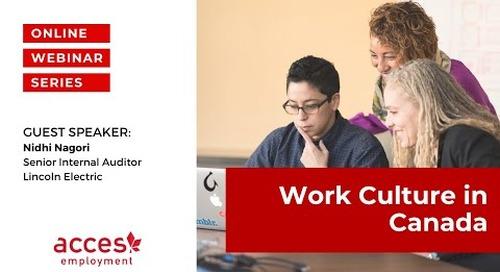 Work Culture in Canada