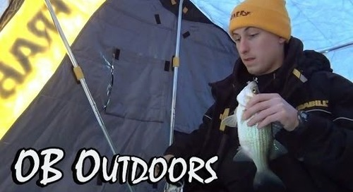 "OB Outdoors - Episode 2: Lake Winnebago ""Early Ice""  (12-29-13)"