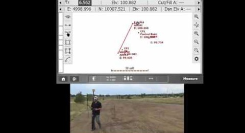 Measurement of areas in SCS900