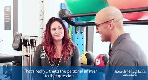 Cat Zingano at the Irvine Wellness Center 5 of 6