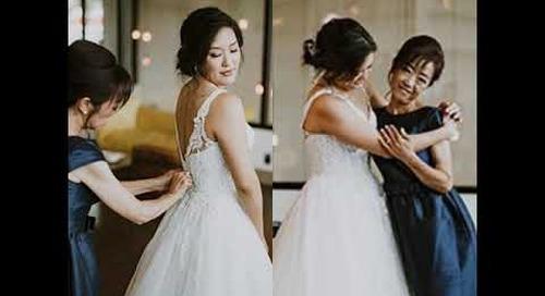 Dreamy Contemporary Wedding | The Pink Bride