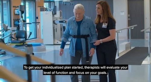 What to Expect from CHI St. Vincent Sherwood Rehabilitation Hospital, a partner of Encompass Health