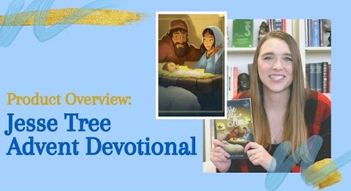 Product Overview of Jesse Tree Devotional | Daily Devotions for Advent