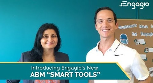 "Introducing Engagio's New ABM ""Smart Tools"""